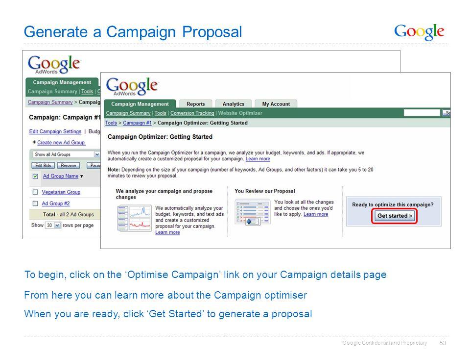 Google Confidential And Proprietary 1 Rachel Coate Adwords