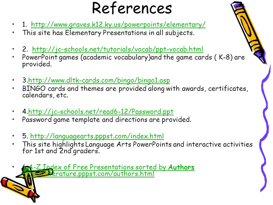 Improving Reading Vocabulary Using PowerPoint Games Presented by ...