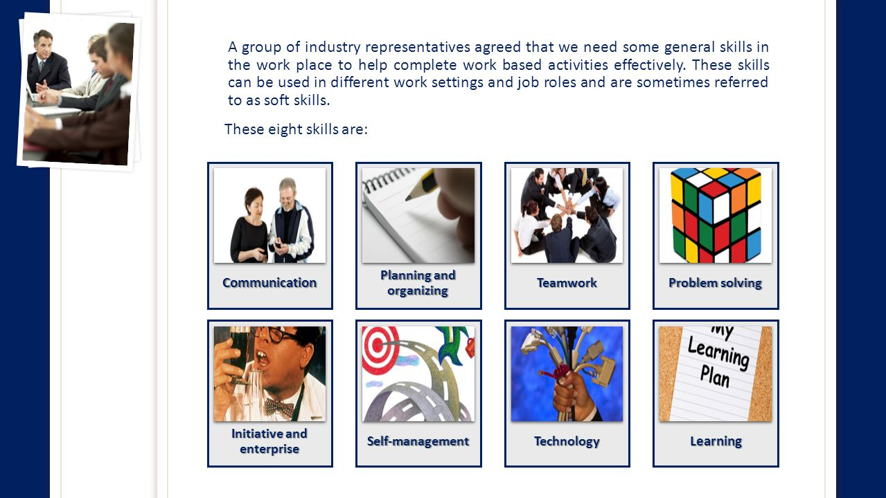 How can these skills be applied at a workplace?