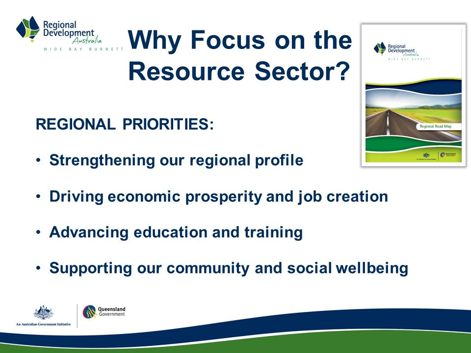 Why Focus on the Resource Sector.