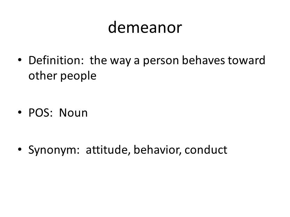 Captivating Demeanor Definition