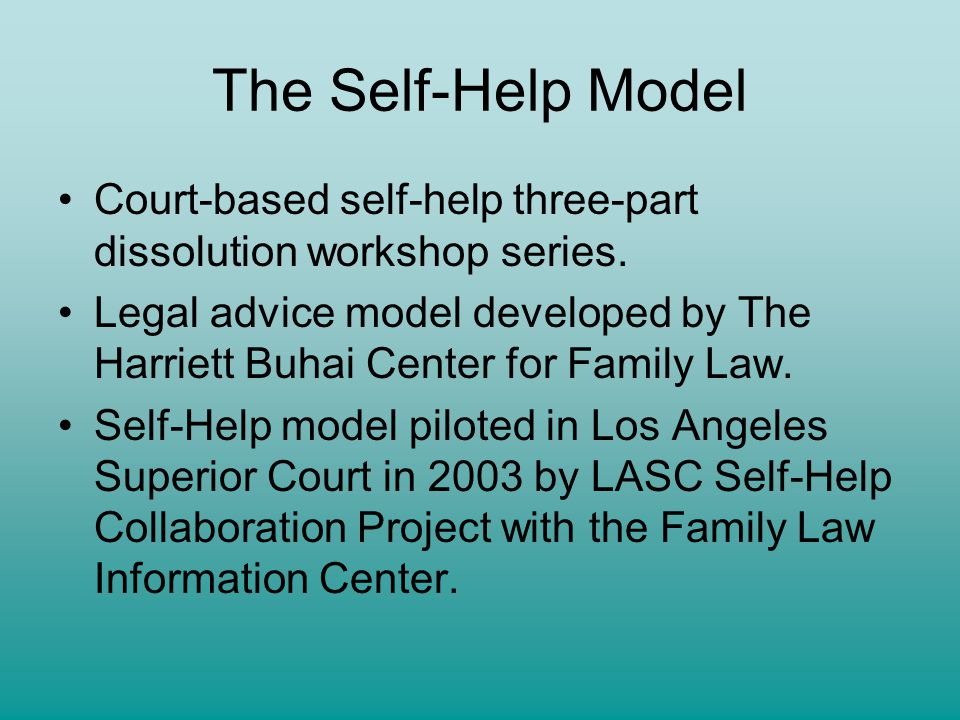 Self help divorce workshop series presented by michelle c the self help model court based self help three part dissolution workshop solutioingenieria Images