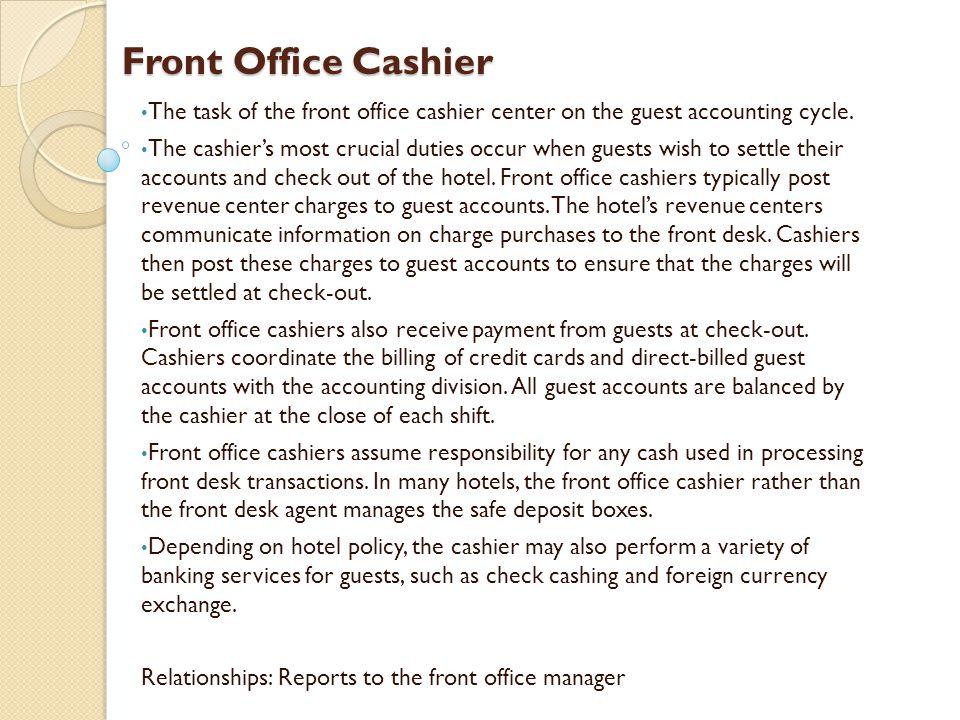 Front Desk Agent Jobs Hostgarcia – Front Desk Job Description