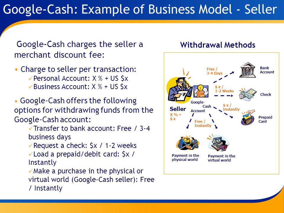 Google-Cash: A new mobile payment platform MobilCash LC - February ...