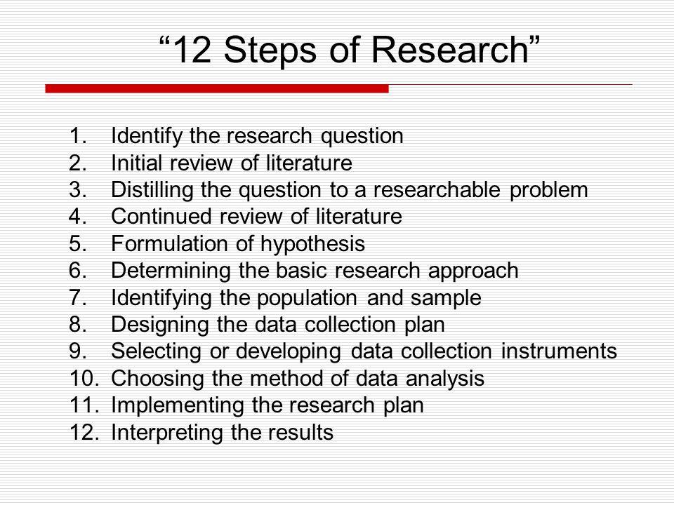 Thesis Quantitative Research