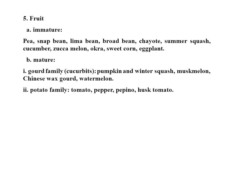 5.Fruit a.
