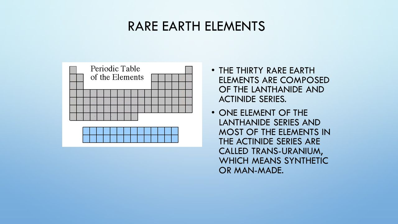 Unit 4 the periodic table of elements unit 4 periodic table of rare earth elements the thirty rare earth elements are composed of the lanthanide and actinide series gamestrikefo Images
