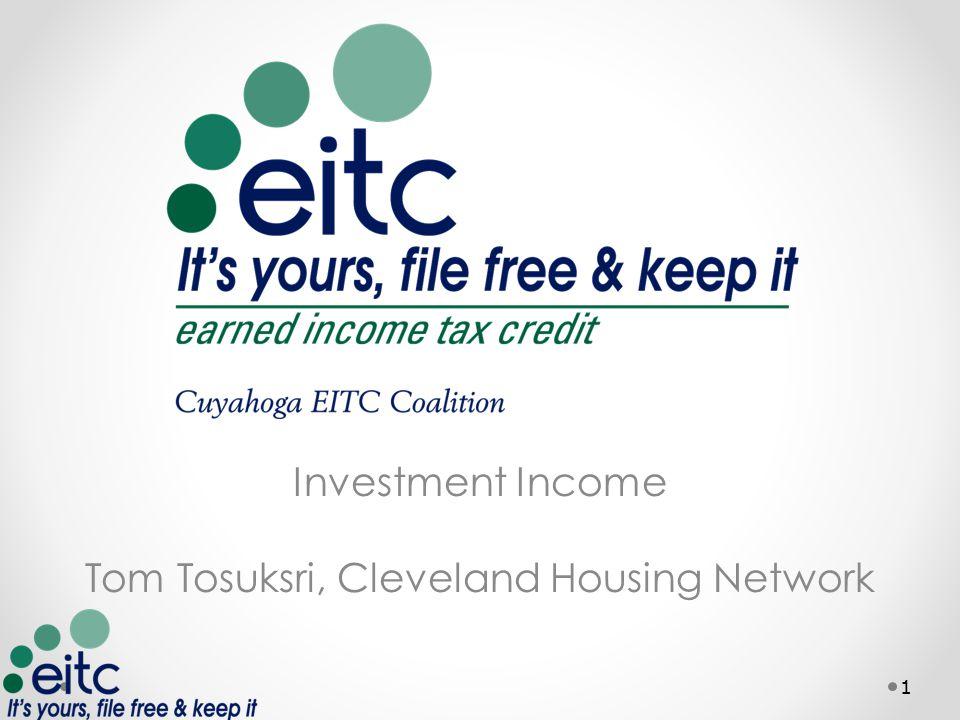 Good 1 Investment Income Tom Tosuksri, Cleveland Housing Network 1