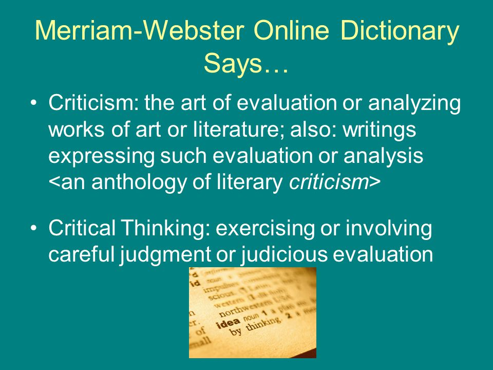 Can someone define what a literary critic is?