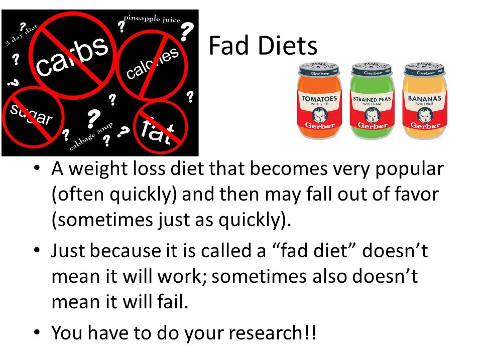 fad dieting how bad is it essay