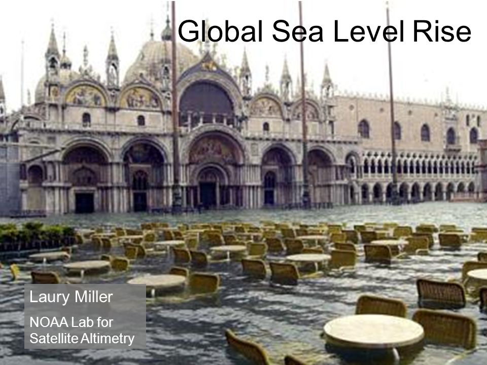 Global Sea Level Rise Laury Miller NOAA Lab for Satellite Altimetry