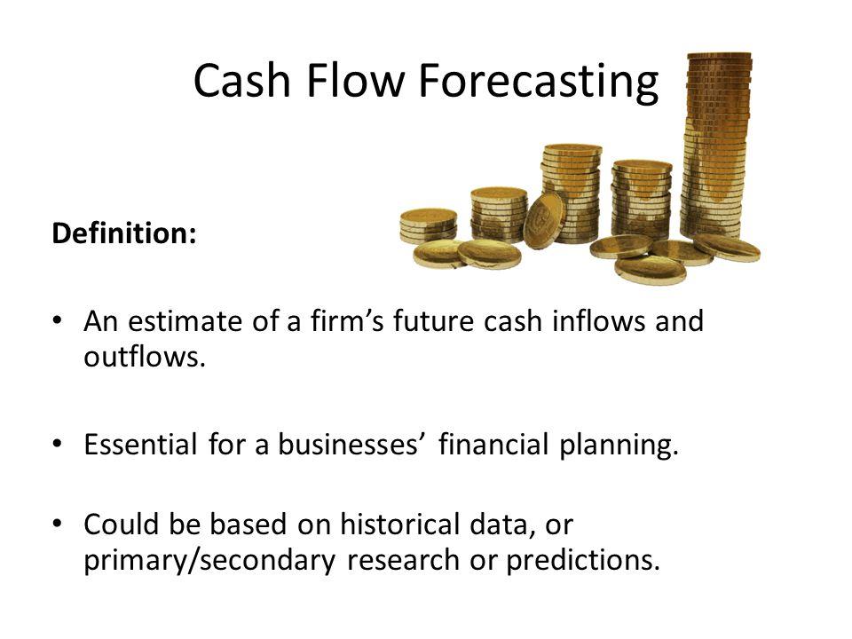 forecasting future cash flows