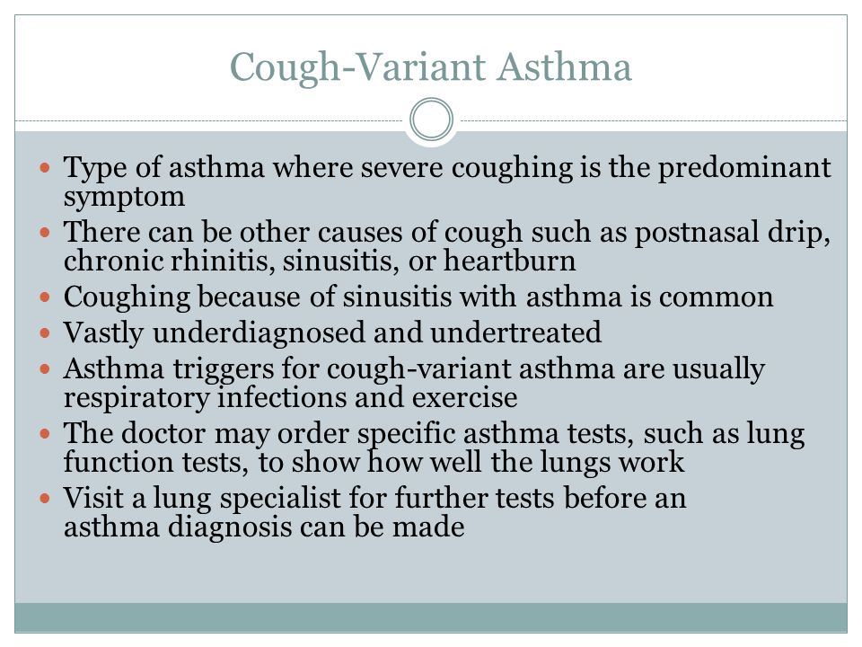 asthma and common type essay Common signs and symptoms of asthma include: coughingcoughing from asthma often is worse at night or early in the morning, making it hard to sleep.