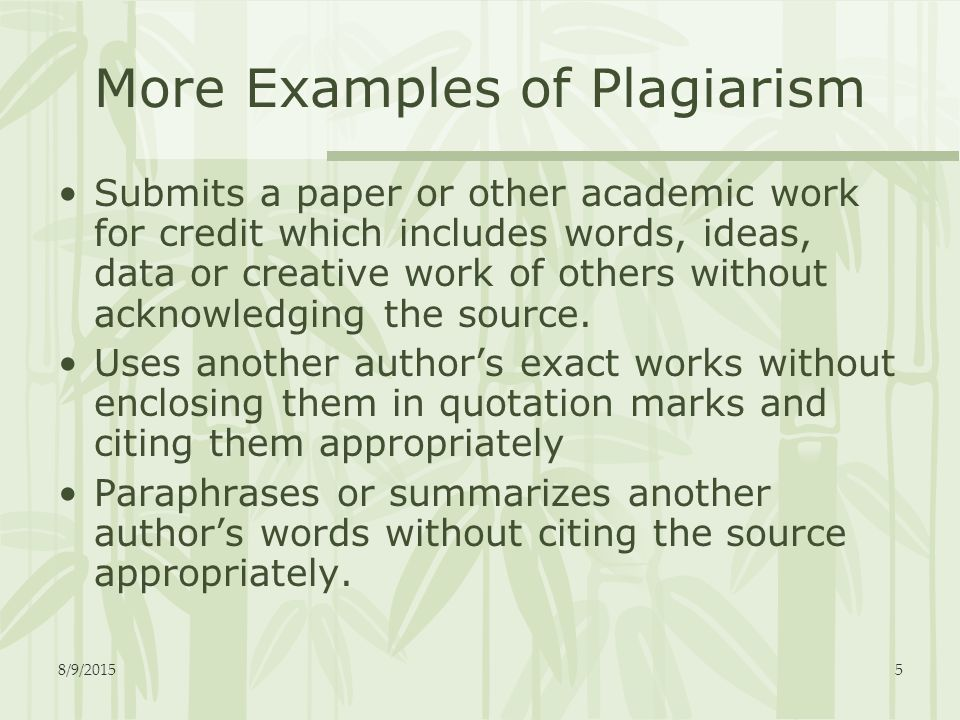 what is plagiarism explanation and examples from dudley erskine devlins article plagiarism in americ Top 10 plagiarism scandals of 2014 #10 each subject became the target of multiple posts, each highlighting passages of text that they see as examples of plagiarism.