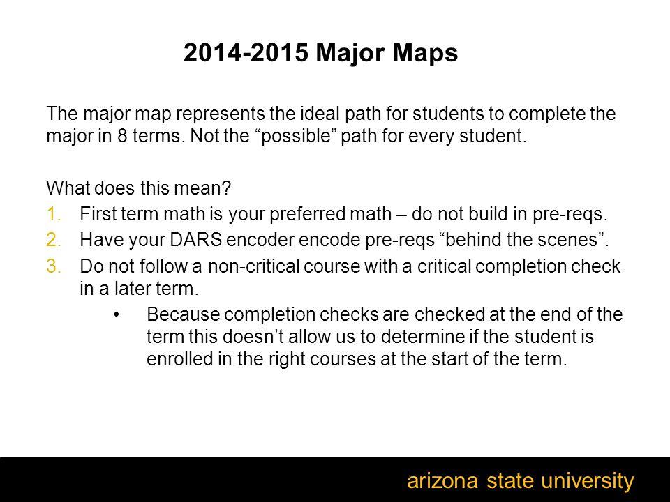 arizona state university wel e to the bamm refresher training