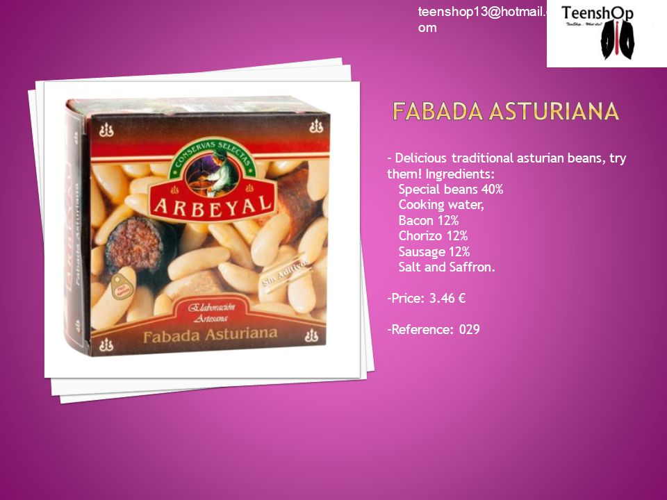 - Delicious traditional asturian beans, try them.