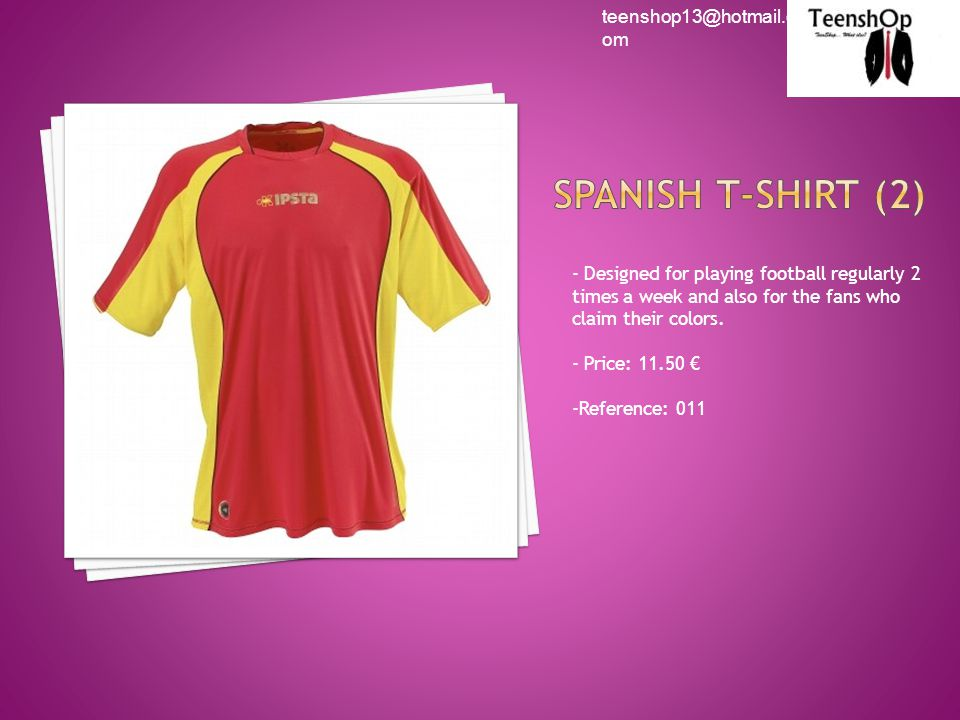 - Designed for playing football regularly 2 times a week and also for the fans who claim their colors.