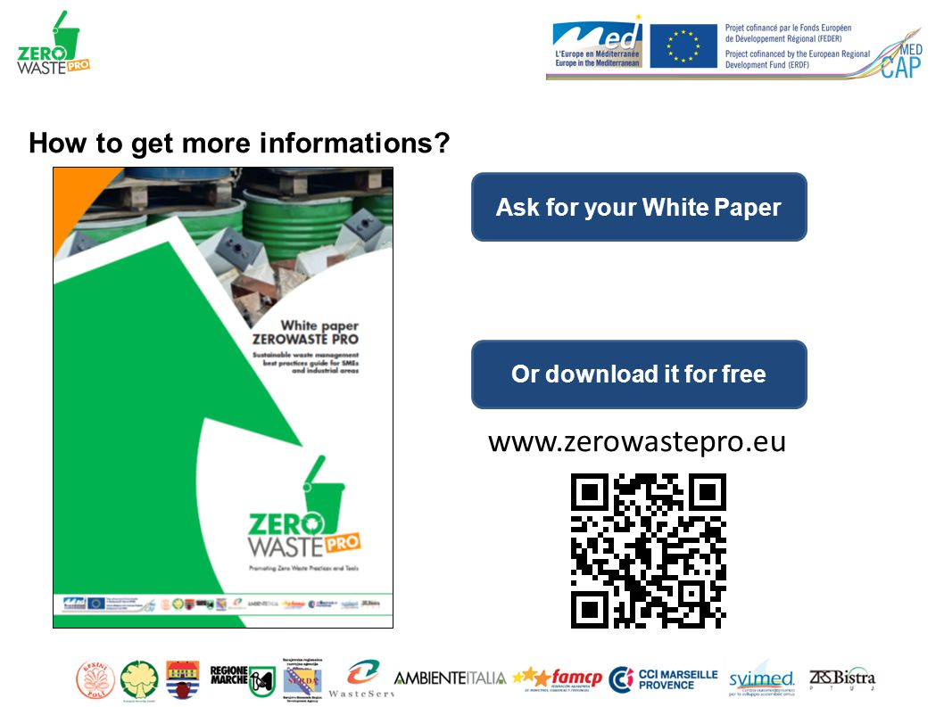 How to get more informations Ask for your White Paper Or download it for free