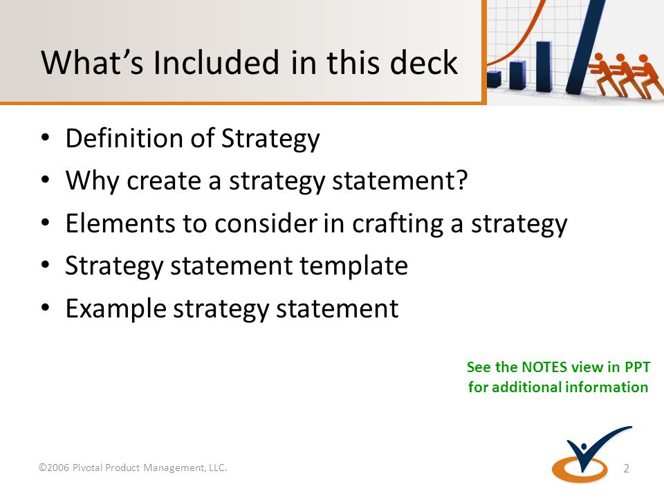 Product strategy statement template and strategies across the whats included in this deck definition of strategy why create a strategy statement pronofoot35fo Gallery