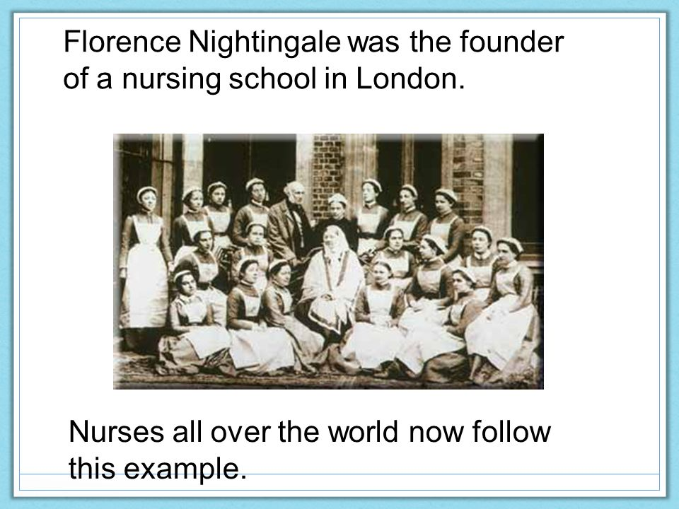 nursing and florence nightingale We are fully accredited nightingale college is nationally accredited through the accrediting bureau of health education schools (abhes) what's the.