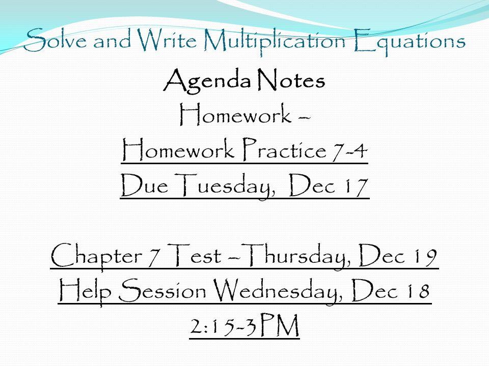 Homework And Practice 7-4 - image 8