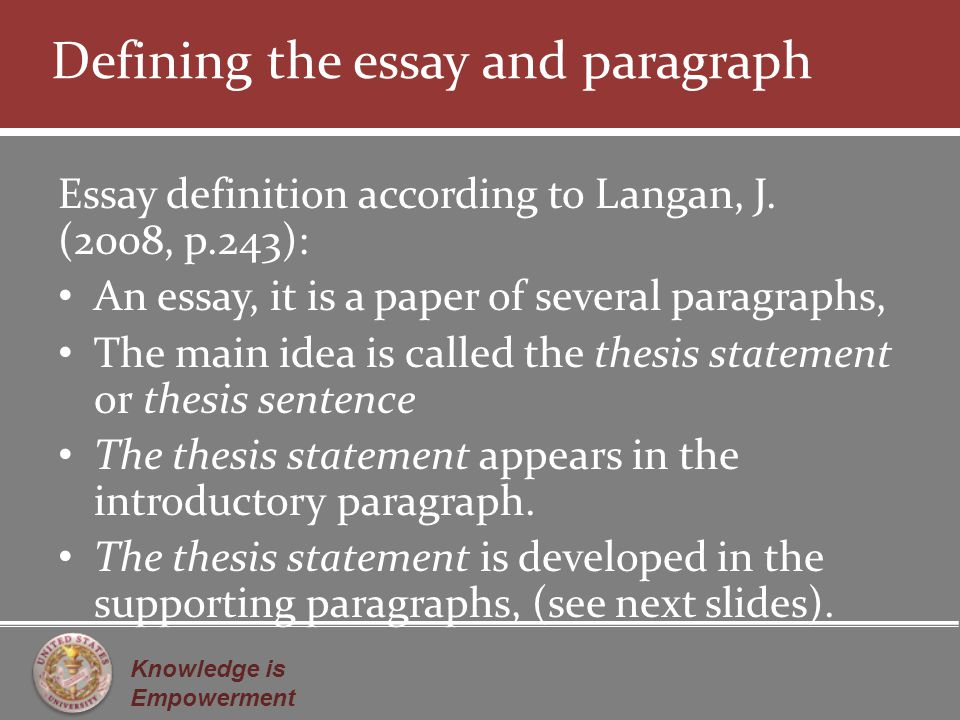 Example Of An Introductory Paragraph For A Persuasive Essay