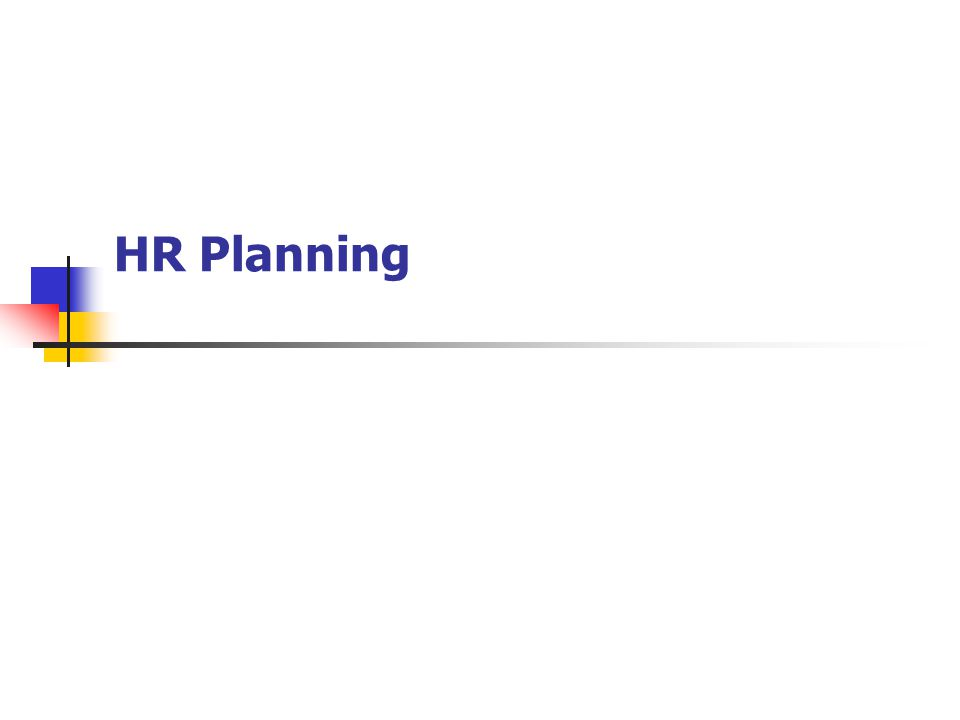 Hr Planning. In This Session We'Ll Cover The Integration Of Hr