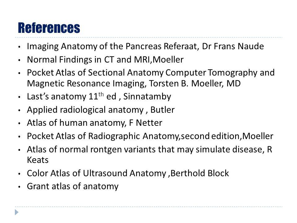 Imaging Anatomy Of The Pancreas Ben Barnard Department Of Diagnostic
