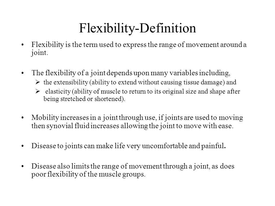Attractive 2 Flexibility Definition Flexibility ...