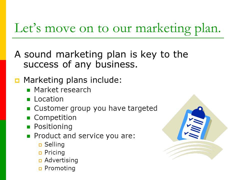 Keys to success business plan