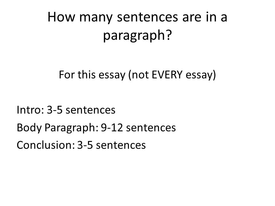 how many paragraphs should an evaluation essay be Your summary essay should serve as a substitute for the original source by reading your summary essay, a reader should be able to develop an understanding of the original work this type of essay is about summarizing the original text, not criticizing it.