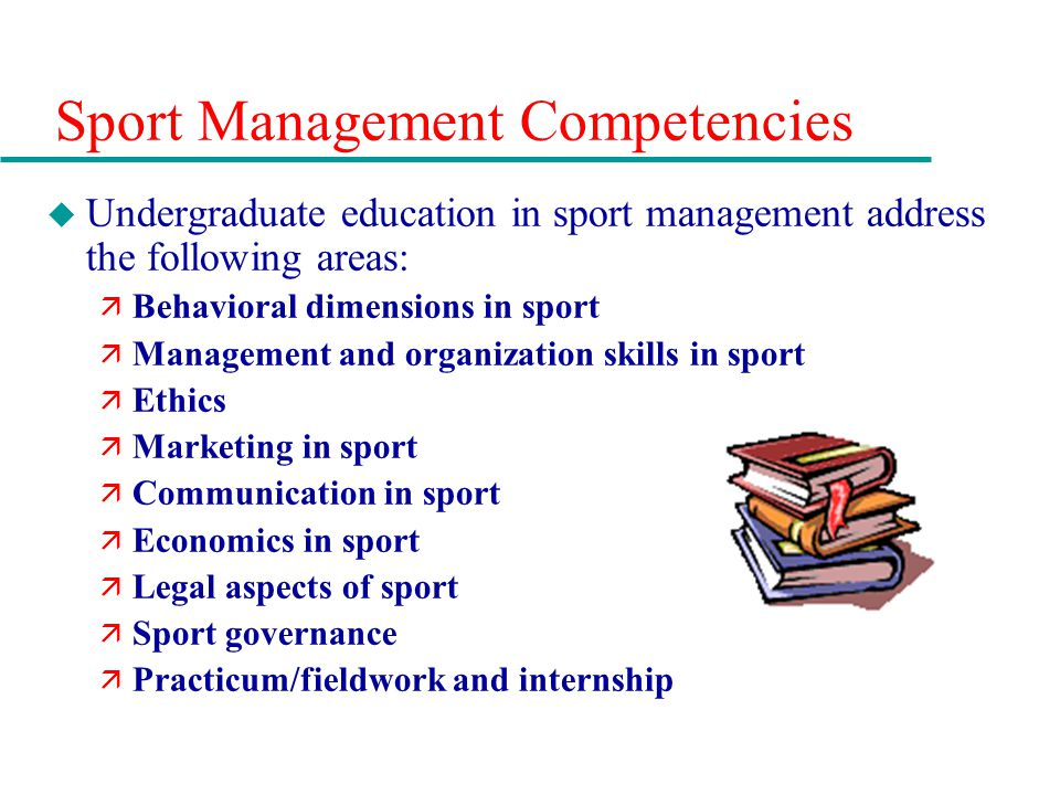 Chapter 13 sport careers in management media performance and 6 sport management competencies fandeluxe Choice Image