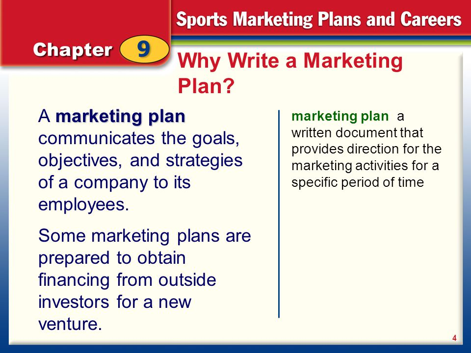 sport marketing plan