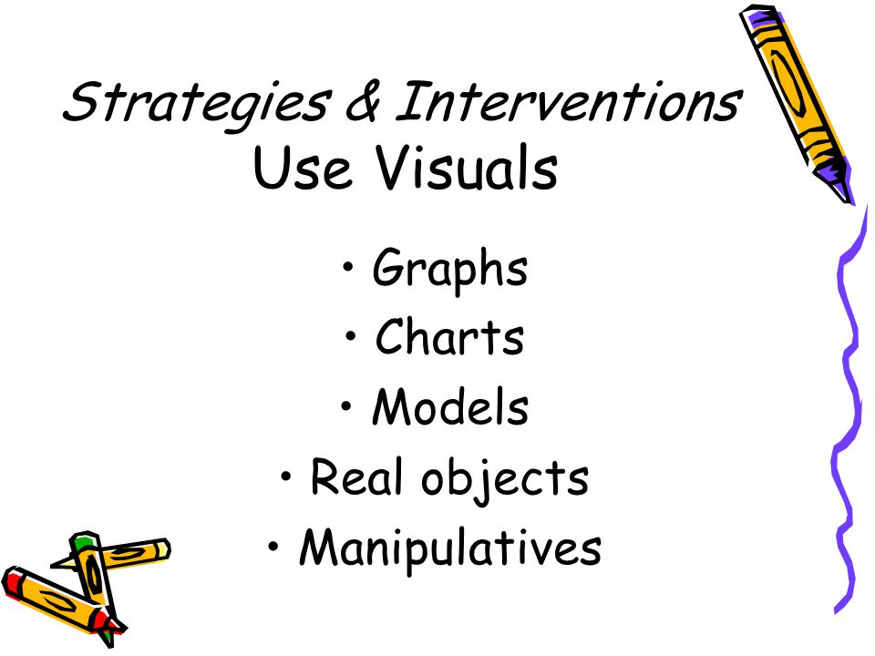 Strategies & Interventions Actively teach vocabulary Classroom instruction Word walls Sentence Frames Hallway posters