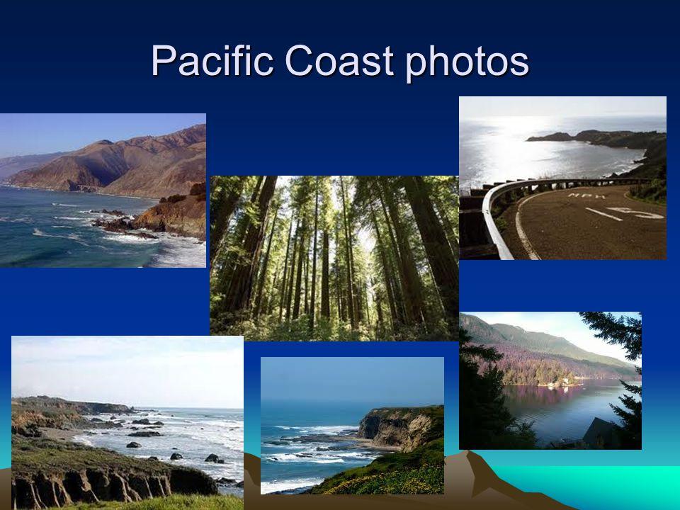 6 Pacific Coast Photos