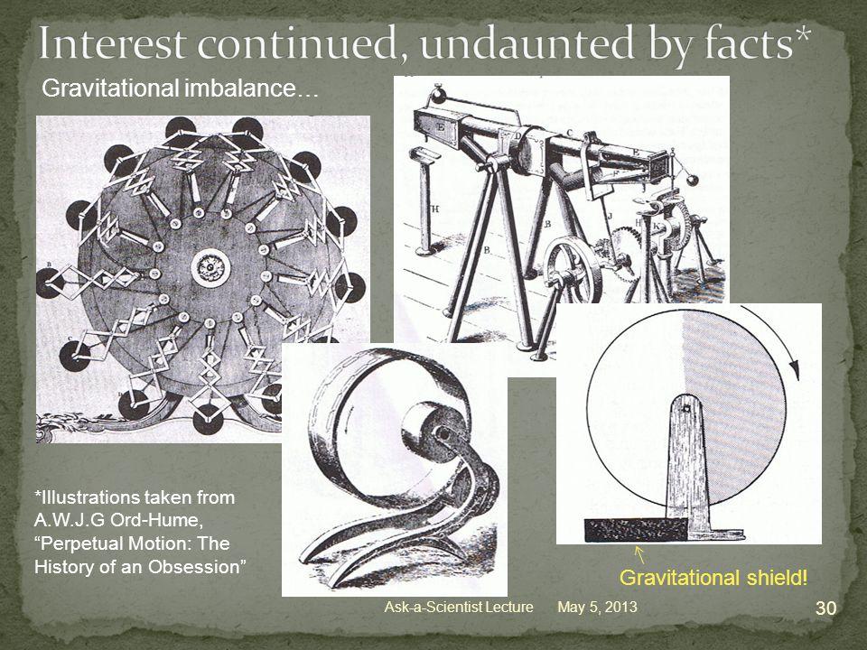 Gravitational imbalance… Gravitational shield.