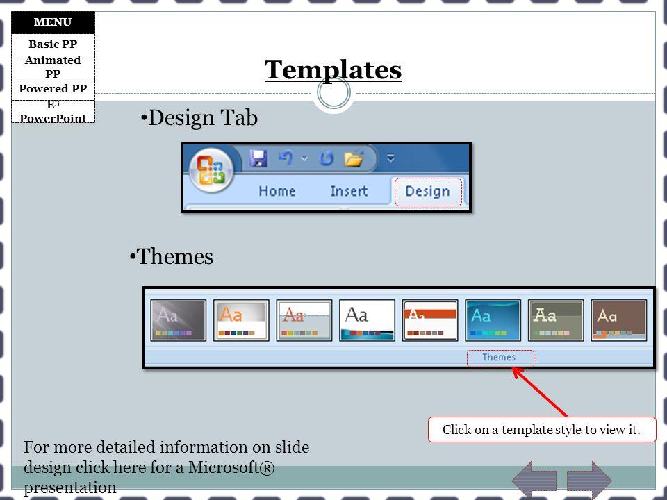 Basic Powerpoint Templates
