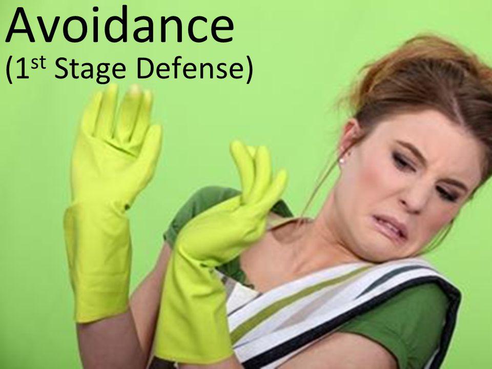 Avoidance (1 st Stage Defense)