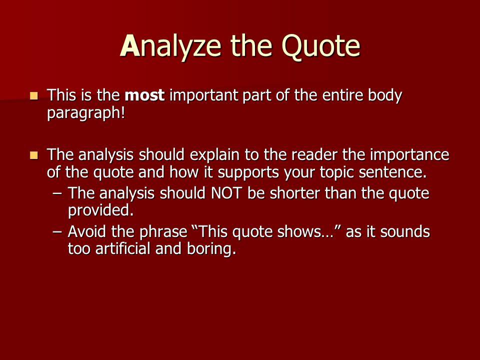 body paragraphs for an argument essay