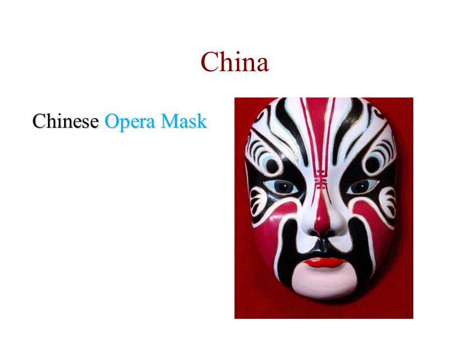 Chinese Opera Mask China