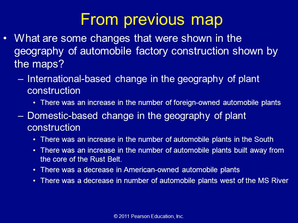 The Cultural Landscape An Introduction To Human Geography Ppt - Changes in us employment international mapping pearson education inc