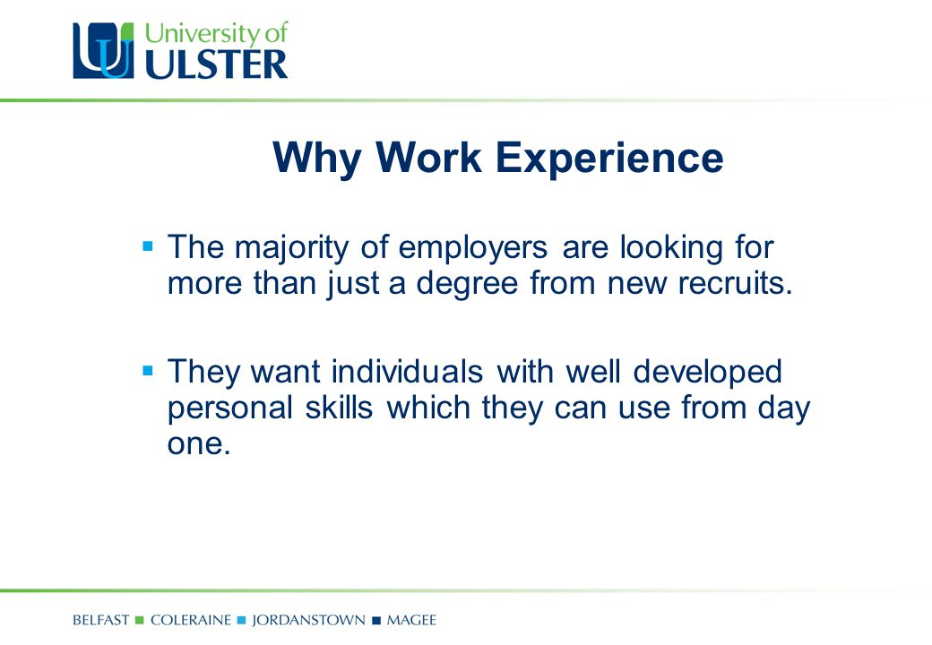 Developing your employability skills career development centre 4 why yelopaper Choice Image