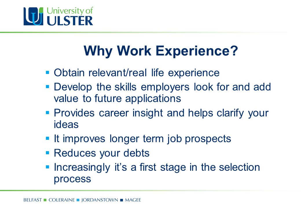 Developing your employability skills career development centre 5 why yelopaper Choice Image
