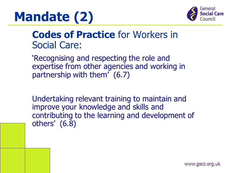 social working training