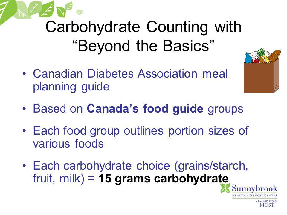 Beyond the basics candian diabetes association
