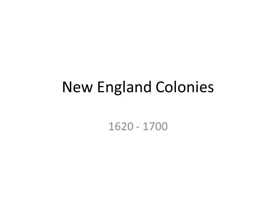 What were the religious beliefs of the colonists in the new england colonies?