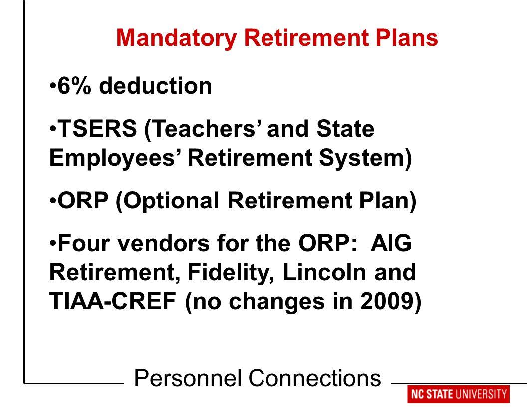 mandatory retirement has to go