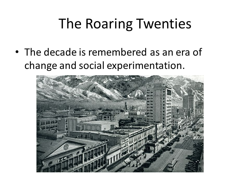 To what extent is the term Roaring Twenties an appropriate name for that decade?