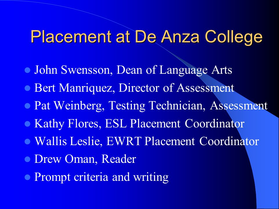 placement test essay tips Compass writing skills practice test #1 view instructions.