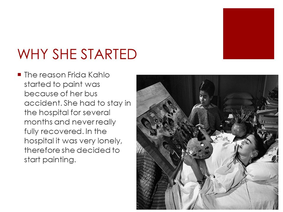 WHAT HAPPENED  On September 17 th 1925 Frida (18 years old) had a traffic accident, she was riding in a bus when it crashed in to a trolley.